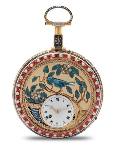 "The Singing Bird Pocket Watch ""The Evening"""