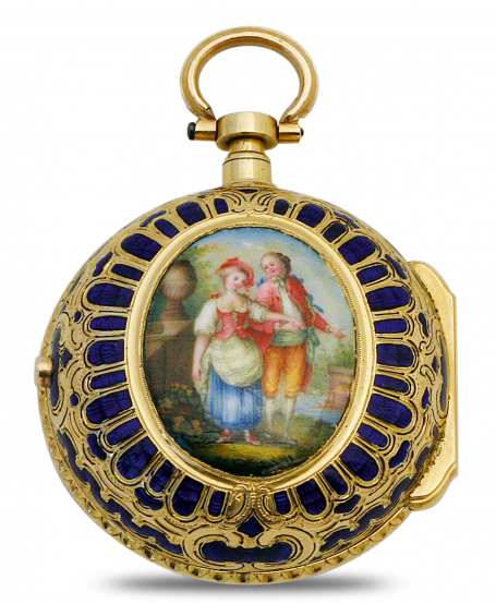 "Pocket watch ""Lover's parade"""