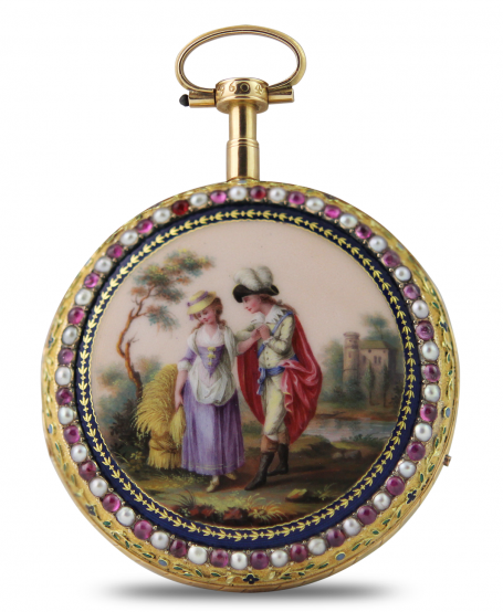 Erotic pocket watch