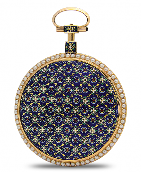 Tapestry Pocket Watch